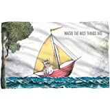 Max's Boat -- Where The Wild Things Are -- Fleece Throw Blanket