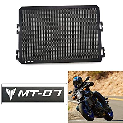 Stainless Steel Motor Radiator Grill Guard Cover Protection For Yamaha FZ-07 MT-07 2013 2014 2015 2016 2020 2020: Automotive