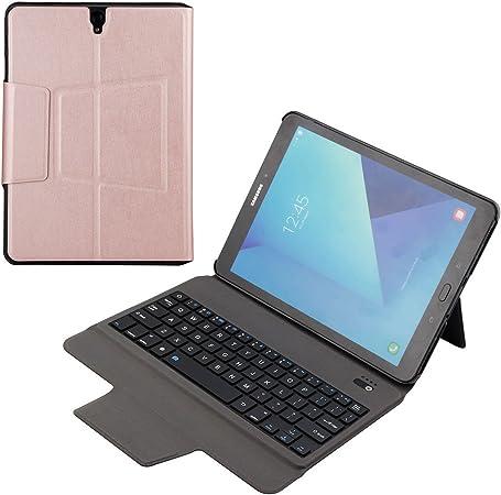 ykcloud inalámbrico teclado y carcasa para Samsung Galaxy Tab ...