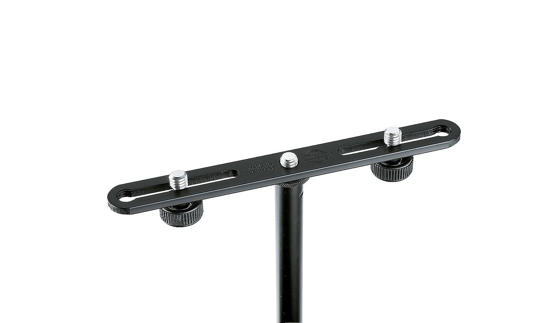 K& M 23550 Pied pour Microphone Noir 235/50 Pupitres