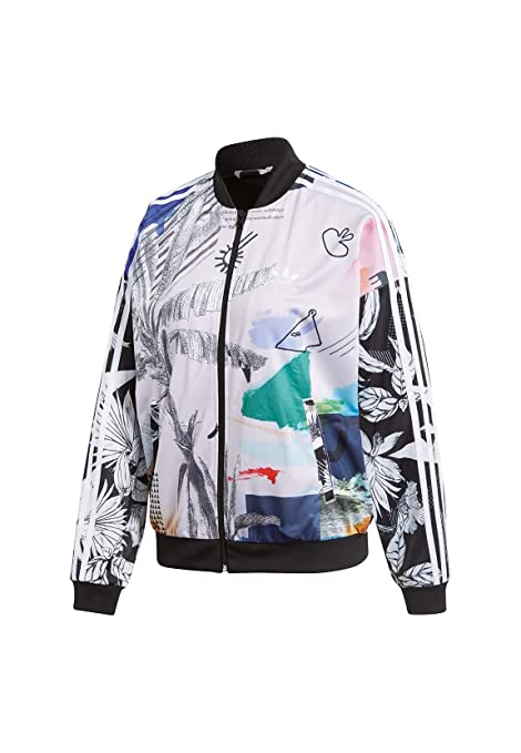 Adidas Oversized Tracktop, M (US 8) at Amazon Womens ...