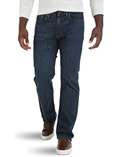 303fc5ee8af Wrangler Authentics Men's Big and Tall Big & Tall Relaxed Fit Comfort Flex  Waist Jean