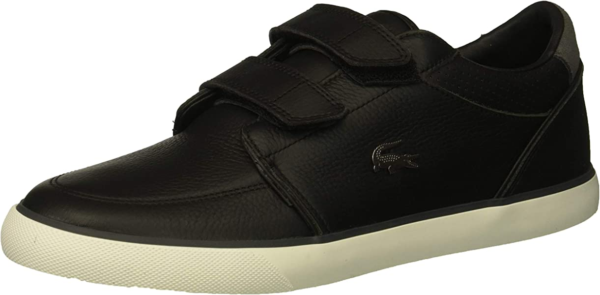 6881fe1e7 Lacoste Men s Bayliss Sneaker Black Dark Grey 7 Medium US