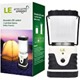 LE Outdoor LED Lantern, Ultra Bright 300lm, Shockproof, Skidproof, Home, Garden and Camping Lanterns