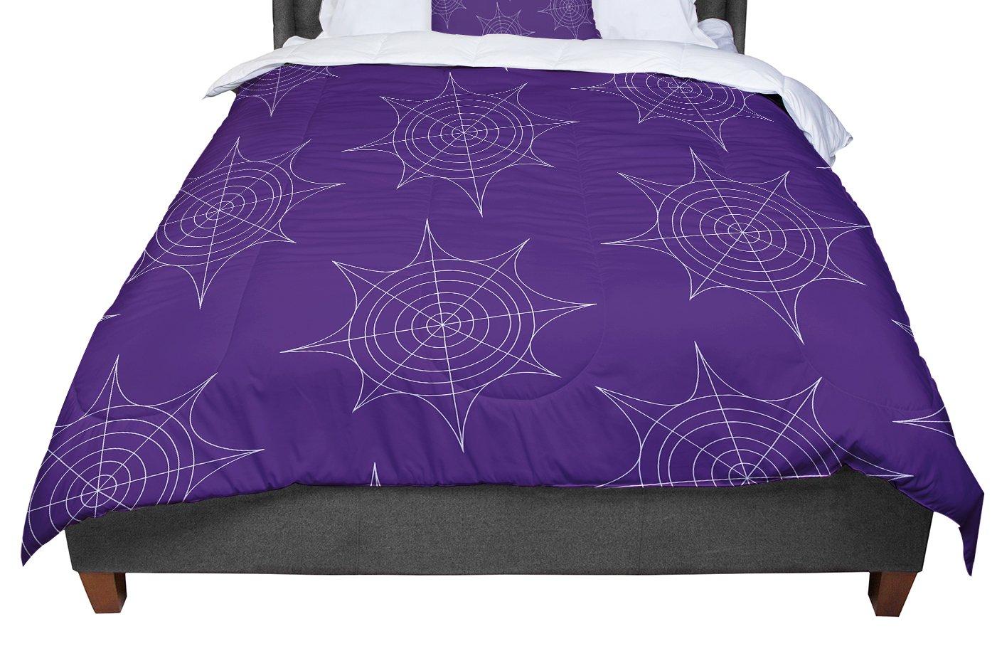 68 X 88 KESS InHouse Famenxt Octopus Flying Manta Rays Teal Green Twin Comforter