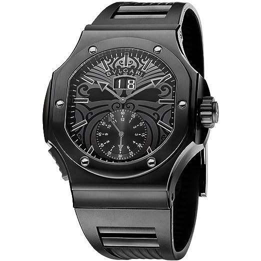 Bvlgari Bulgari Endurer Reloj de Hombre automático 101906 BRE56BSBVDCHS/AB: Amazon.es: Relojes