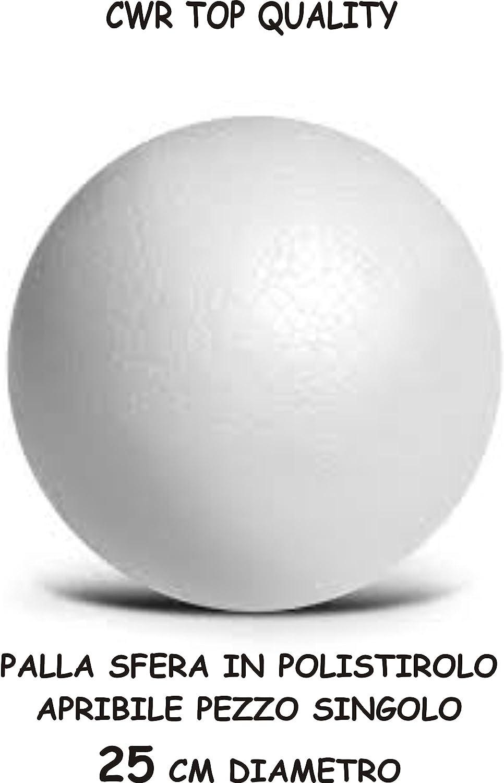 Hobby - Bola gigante de poliestireno expandible de 25 cm de ...