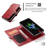 iPhone Xr Wallet Case Leather,AKHVRS Handmade