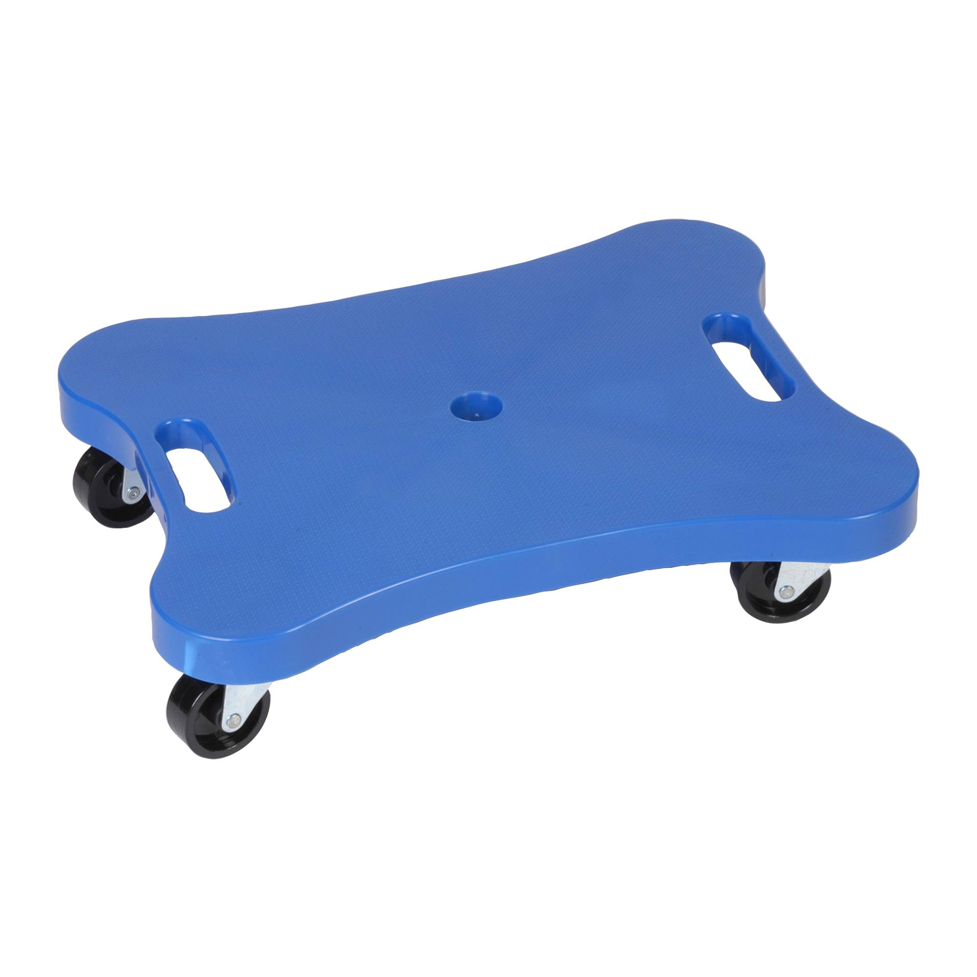 Champion Sports Contoured Plastic Scooter Board, Blue by Champion Sports