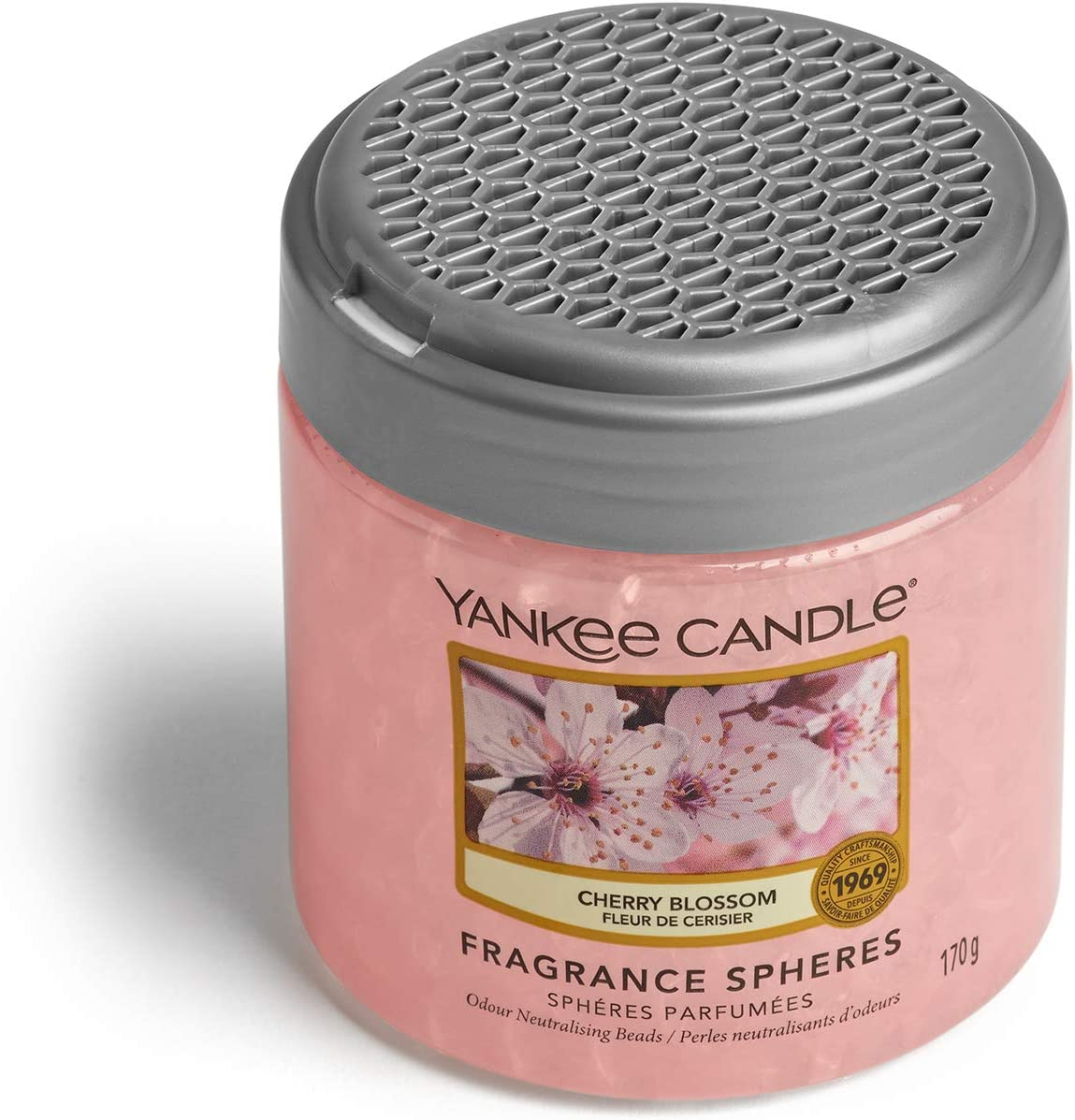 Yankee Candle sph/ères parfum/ées d/ésodorisant maison Dur/ée jusqu/à 30/jours Cachemire D/élicat