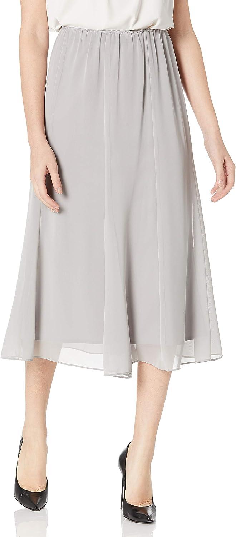 Dove SP Alex Evenings Womens Tea Length Dress Skirt Petite Regular Plus Sizes