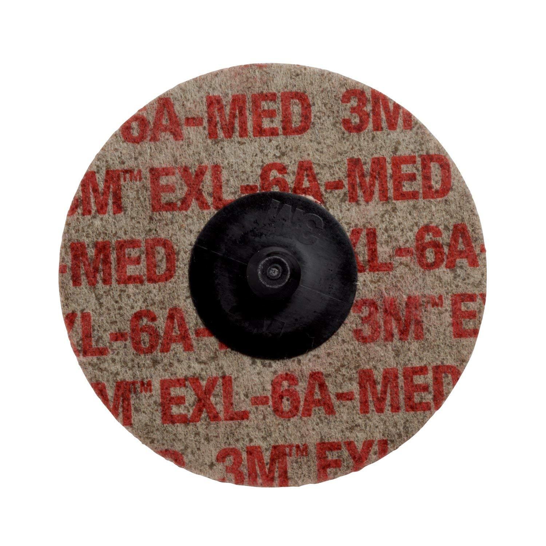 Aluminum Oxide 3 Diameter TR Attachment Scotch-Brite Pack of 40 EXL Unitized Wheel TR Roloc TM NH 6A Medium TM
