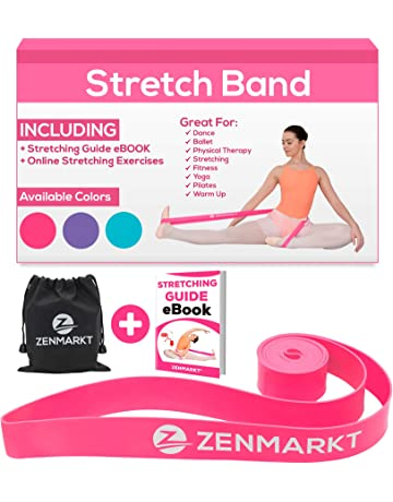 Zenmarkt Stretch Bands for Dancers and Gymnasts - Exercise Bands for Dance, Ballet, Gymnastics