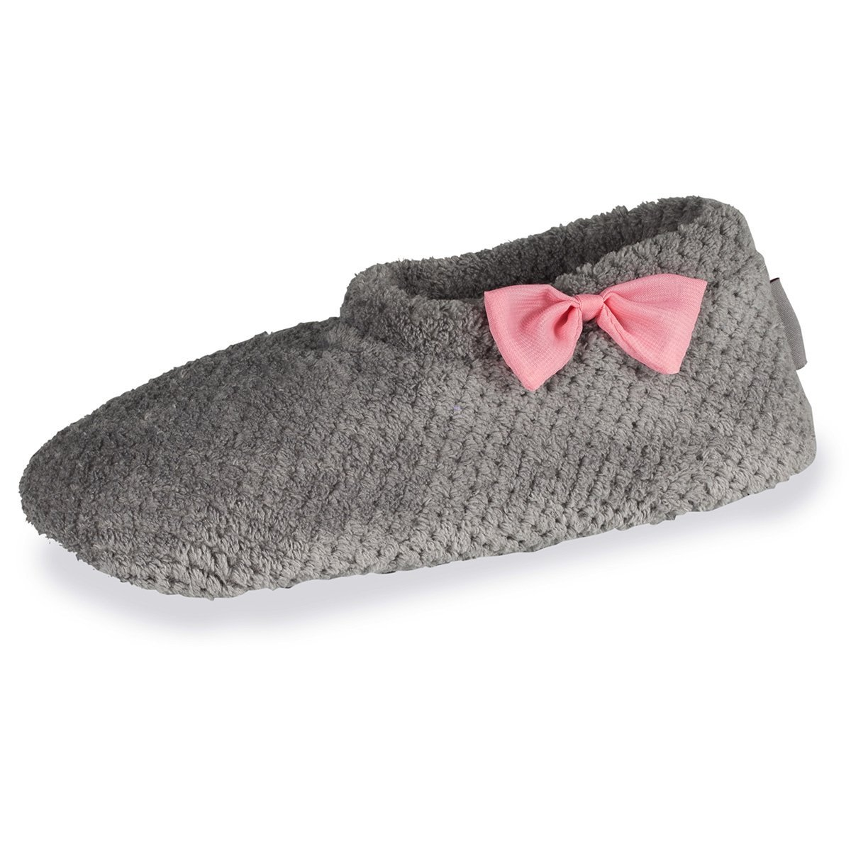 Isotoner Gris Chaussons Bottillons Femme nud nud Organza Organza Gris b063815 - deadsea.space