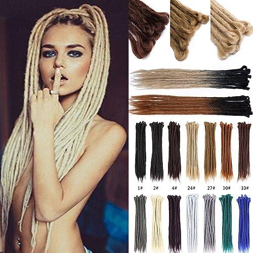 76ee9997711dd0 US Fashion Outlet Handmade Dreadlocks Extensions 20 inch 10 Strands Reggae  Hair Hip-Hop Style Synthetic Twist Braiding Hair Crochet Braids from Maya  Culture ...