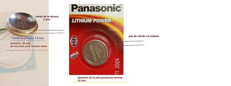 1 cr2354-Pila para reloj y vtech KidiTikTak miss marca LTM boy: Amazon.es: Electrónica