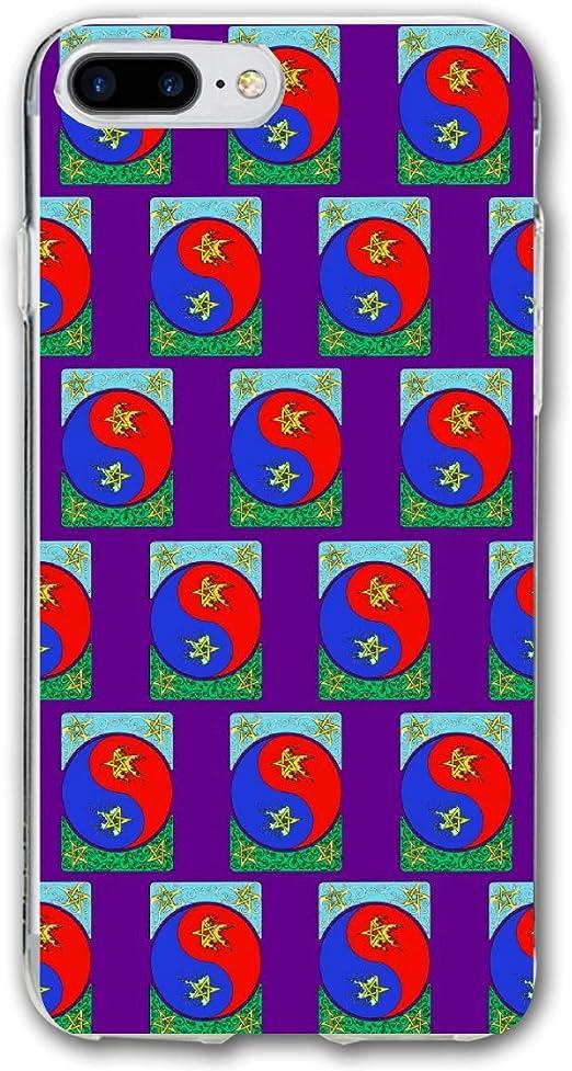 Amazon.com: Elemental Stars Yin Yang iPhone 7 Plus Case ...