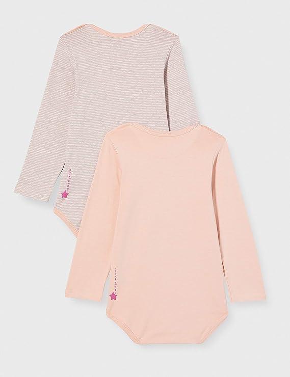 2er Pack bellybutton Baby-M/ädchen Body T-Shirt
