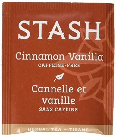 Stash Tea Cinnamon Vanilla Herbal Tea, 10 bolsas de té en ...