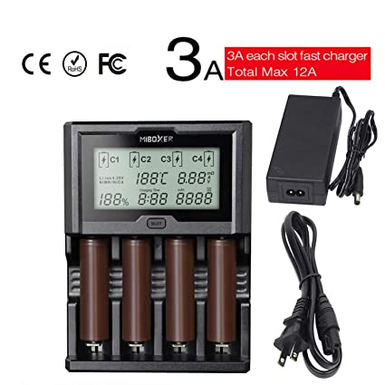 Independent Universal 2 Slots Smart Lcd Battery Charger Discharge Recharge For Li-ion Ni-nh Ni-cd Aa Aaa 18650 26650 With Usb Input Back To Search Resultsconsumer Electronics