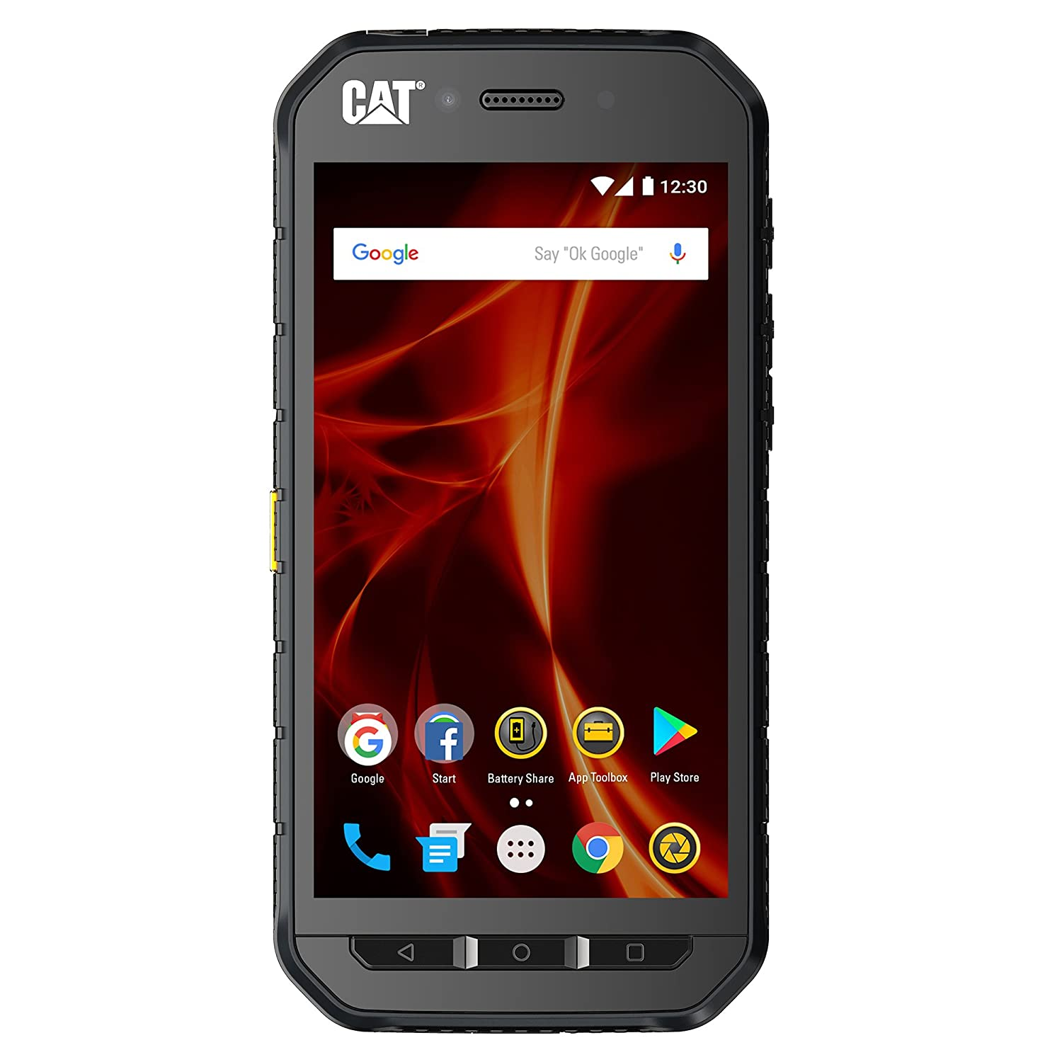 sale retailer c9858 06458 CAT PHONES S41 Unlocked Rugged Waterproof Smartphone, Network Certified  (GSM), US Optimized (Single Sim) with 2-year Warranty Including 2 Year  Screen ...