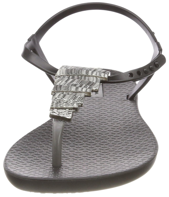 f4538b81516b4 Amazon.com: Ipanema Women 82283 22037/Black/Black M: Shoes