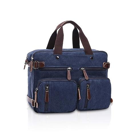 FANDARE 3 en 1 Tote Bag Bolsa de Mano Hombre/Mujer Mochila ...