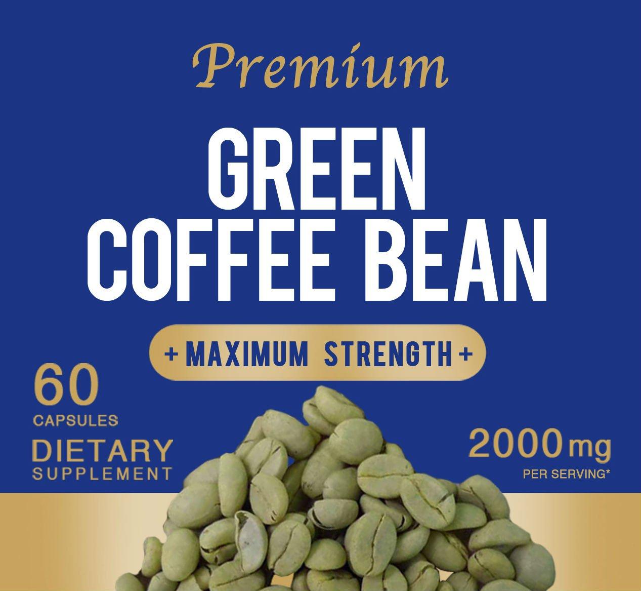 Las píldoras de pérdida de calidad premium grano de café verde para adelgazar Peso Cápsulas Mejor 2000mg Nueva Doble Fuerza Fórmula: Amazon.es: Hogar