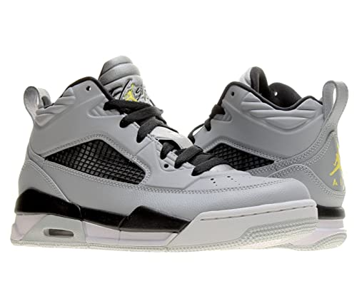 outlet store b24f6 dbdbe Jordan Nike Air Flight 9.5 (BG) Boys Basketball Shoes 654975-070 Wolf Grey