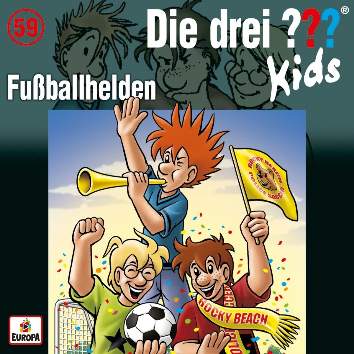 059/Fuß ballhelden Europa (Sony Music) Wort Kinderhörspiele