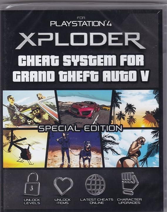 Xploder Cheat System for Grand Theft Auto V - PlayStation 4 [Importación inglesa]: Amazon.es: Videojuegos