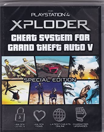 Xploder Cheat System For Grand Theft Auto V Special Edition Playstation