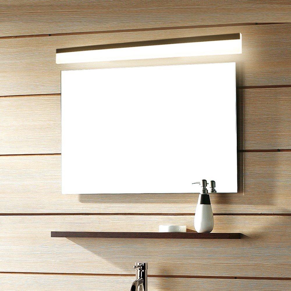 Moderne LED Spiegelleuchte wasserdichte Wandleuchte Leuchte AC85-220V Acryl Wandleuchte Beleuchtung Dekoration Wandleuchte, 100CM 20W, Warmweiß