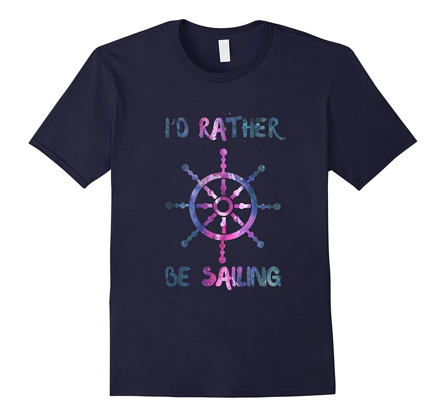Id rather be sailing shirt-Vaci