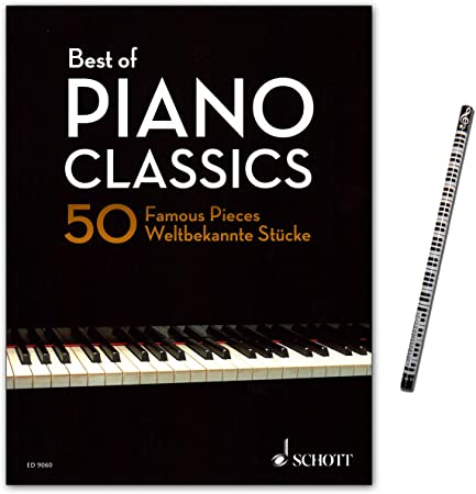 Best Of Piano Classics – 50 Famous Pieces For Piano ...