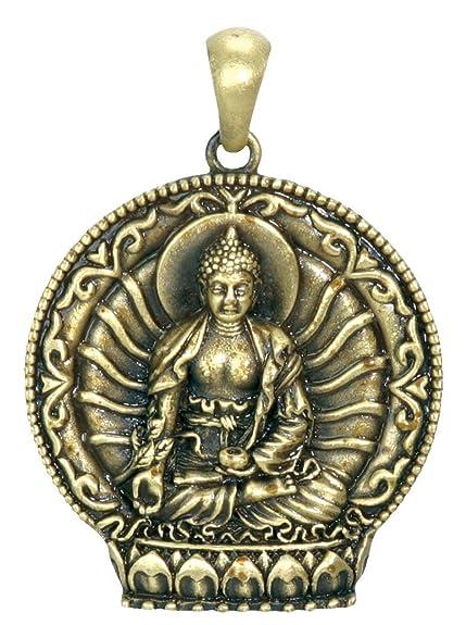 Amazon ytc summit medicine buddha pendant collectible ytc summit medicine buddha pendant collectible medallion necklace accessory aloadofball Image collections