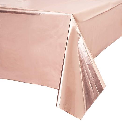Juvale Rose Partido rectángulo de plástico del Vector del ...