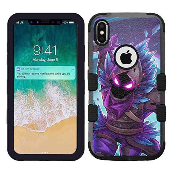 low priced 0b386 433ce Amazon.com: for Apple iPhone Xr Hard Impact Rugged Shockproof Case ...