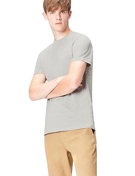 c7e2491ff25e6c FIND T-Shirt Herren Paris-Print und runder Ausschnitt  Amazon.de  Bekleidung