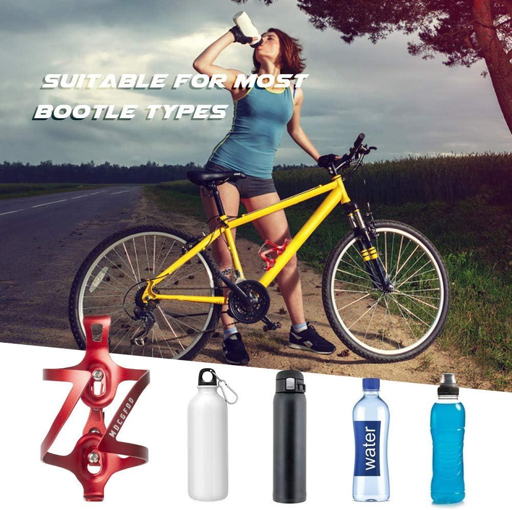 Bicycle Water Bottle Holder Lightweight Aluminum Alloy Bike Bottle Cage