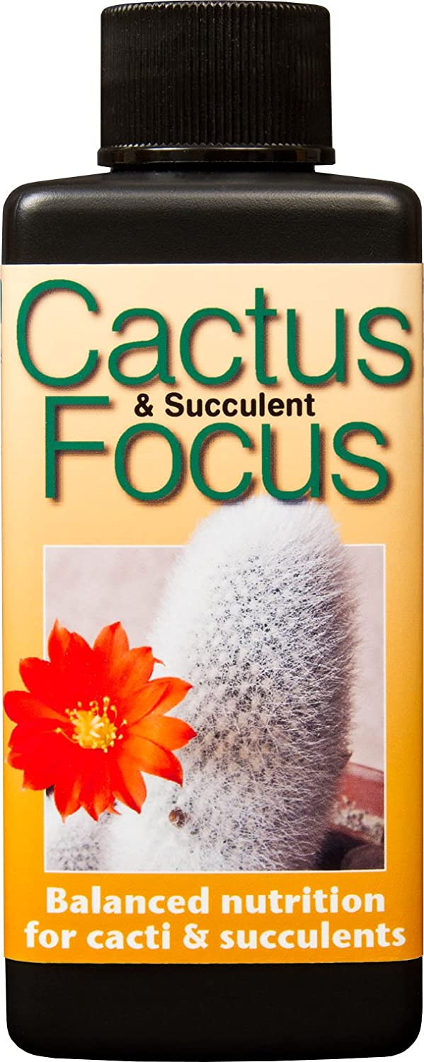 Cactus and Succulent Focus 100ml Growth Technology Ltd GTCAF100