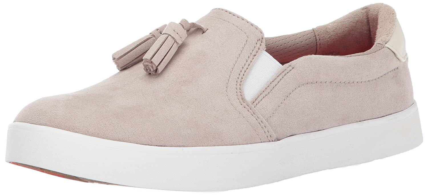 Dr. Scholl's Shoes Women's Madi Tassel Fashion Sneaker B06XCMFRSF 11 B(M) US|Simply Taupe Microfiber