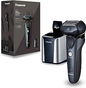 Panasonic - Afeitadora en seco y húmedo, cabezal de 5 capas con ...