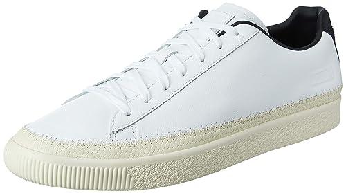 Herren Weiß Breaker Schuhe Puma Österreich Leder Sneaker