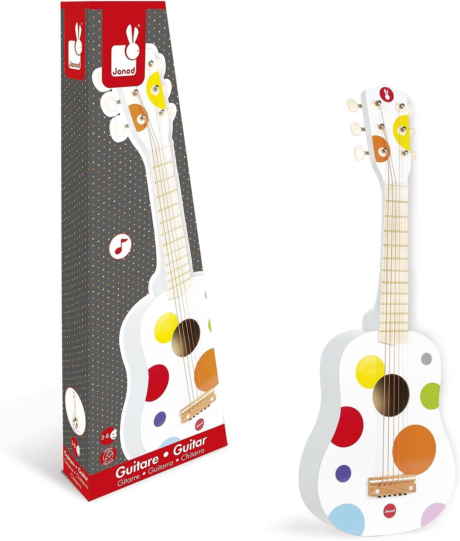 Janod 4507598 - Guitarra en madera [Importado de Alemania]: Amazon ...