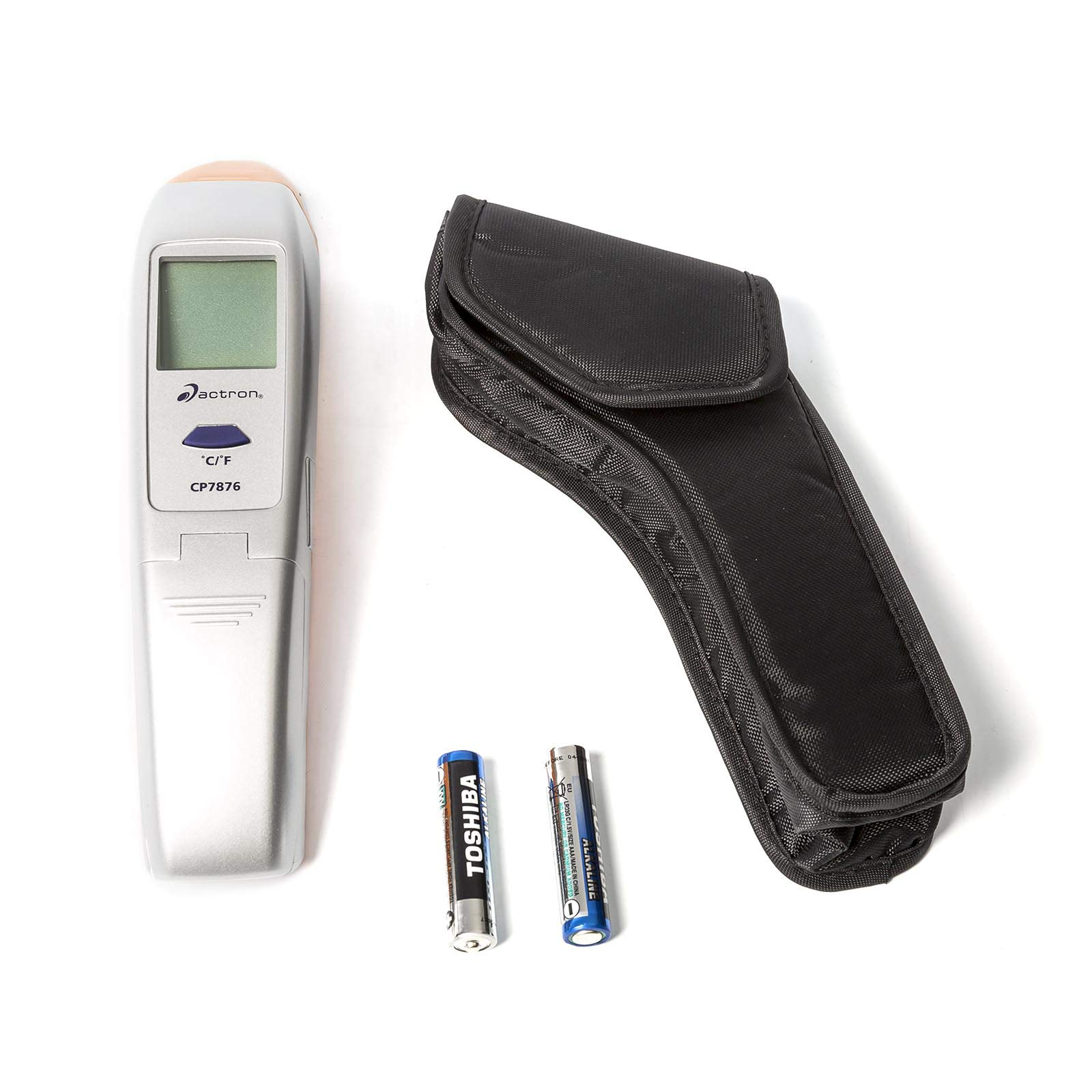 Actron CP7876 IR Thermometer PRO Non-Contact Infrared Thermometer with Laser Pointer by Actron