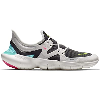 save off 2a255 c4d51 Nike Free RN 5.0 Women s Running Shoe SAIL Volt-Thunder Grey-Aurora Green
