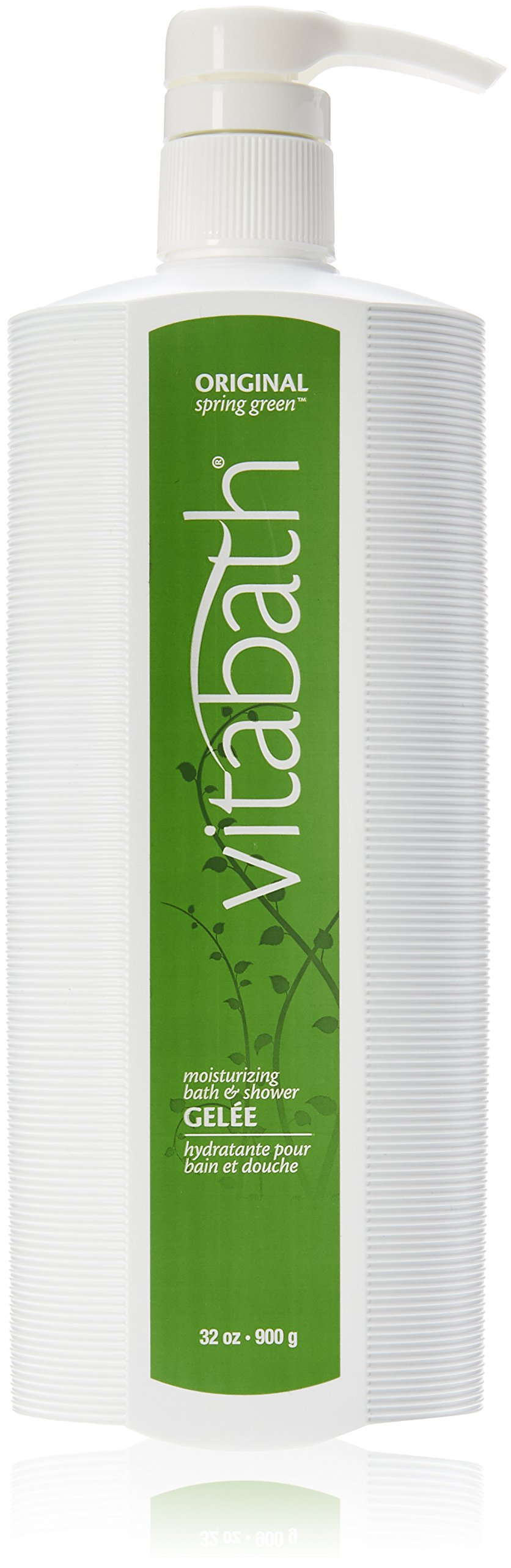 Vitabath Moisturizing Bath & Shower Gelee, Original Spring Green 32 oz (900 g)