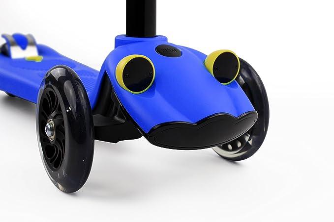 Amazon.com: Phoenix Ryders niños Spray patinete 3 ruedas ...