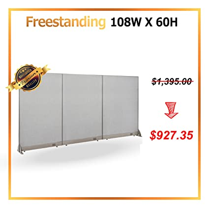 GOF [July Special] Office Freestanding Partition Room Divider Wall Divider  Wall Panel Office Wall